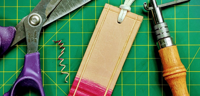 How To Make Your Own Leather Bookmark