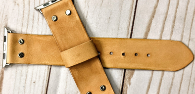 Make Your Own Easy & Inexpensive Leather Watch Strap (No Sew)