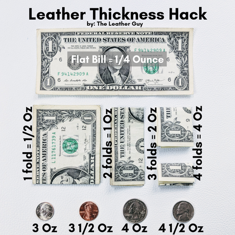 Leather Thickness Hack