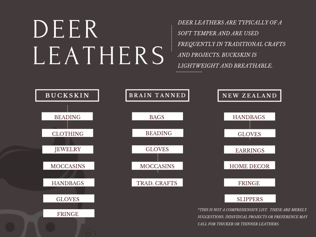 deerskin buckskin leather