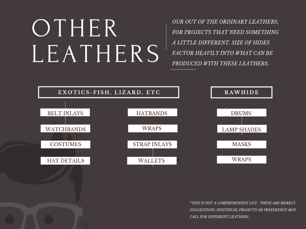 exotic leather