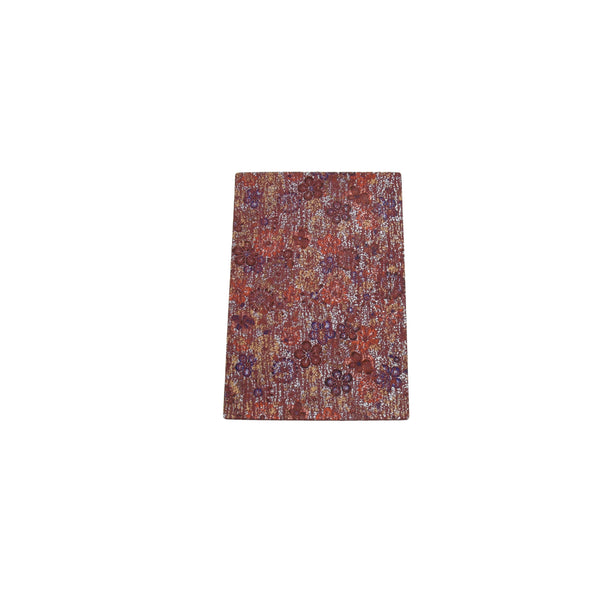 "Antique Crackle Floral Maroon Cow Pre-cuts - 4"" x 6"" 