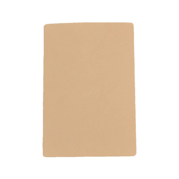Artisan's Choice Cow Natural Veg Tan Leather Various Pre-cut Sizes & Thickness, 6-7 / 4 x 6