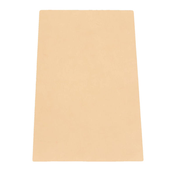 Artisan's Choice Cow Natural Veg Tan Leather Various Pre-cut Sizes & Thickness, 5-6 / 20 x 12.25