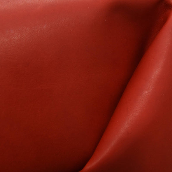 Kangaroo Ruby Red Dyed Veg Tan 5 - 6 Sq Ft Hides 2-3 oz,