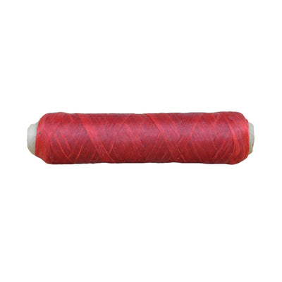 Sinew Artificial beadwork dream catcher thread 20/150/300 yards - Various Colors, Red / 20