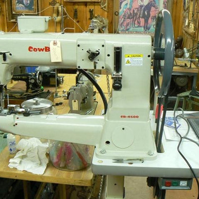 Cowboy 4500 Industrial heavy leather Sewing Machine,