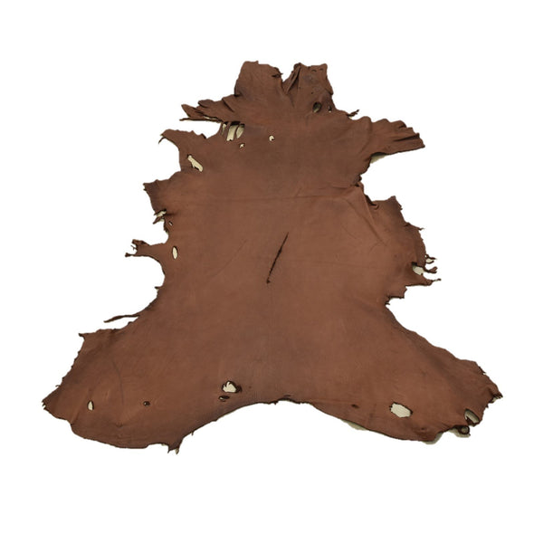 Chocolate Buckskin Deer Hides, 13 Square Foot / Hide 7 / 4-5oz