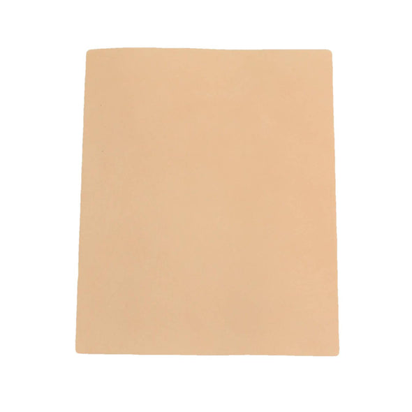 Artisan's Choice Cow Natural Veg Tan Leather Various Pre-cut Sizes & Thickness, 4-5 / 8 x 10