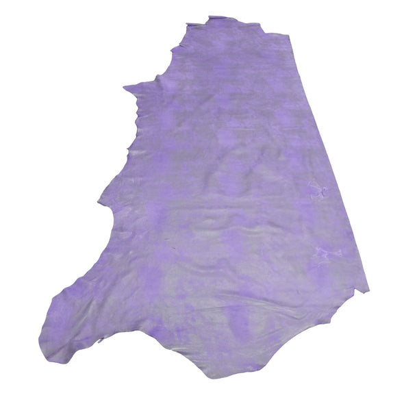 Dearly Beloved Purple Rock N Roll 2-3 oz Leather Cow Hides, 24-26 Square Foot / Side