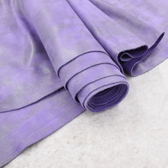 Dearly Beloved Purple Rock N Roll 2-3 oz Leather Cow Hides,