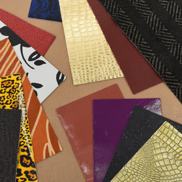 "Mystery Leather Pack Pre-Cut Sheets - 4"" x 6"", 8"" x 10"", 12"" x 12"","