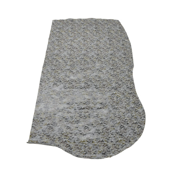 Camo Snakeskin - Various Colors 3-4 oz Cow Hides, 9-10 Sq Ft / Grey