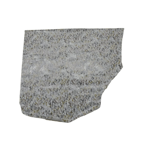 Camo Snakeskin - Various Colors 3-4 oz Cow Hides, 4-5 Sq Ft / Grey