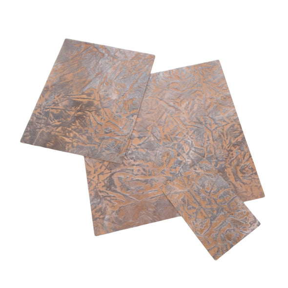 Western Brown Embossed Cowhide Pre-cuts 2.5-3.5 oz,