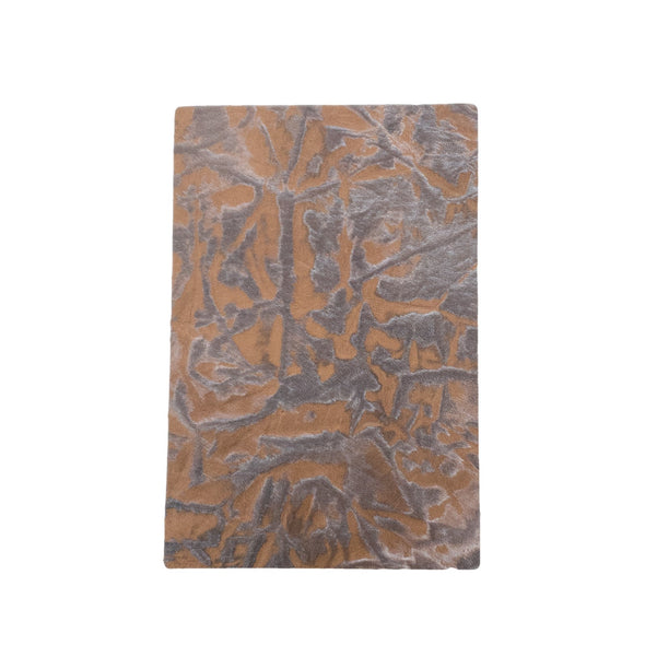 Western Brown Embossed Cowhide Pre-cuts 2.5-3.5 oz, 4 x 6