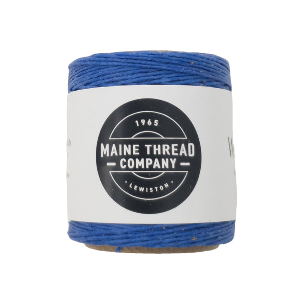 "Maine Thread Waxed Polycord .035"" - Various Colors, Single / Royal Blue"