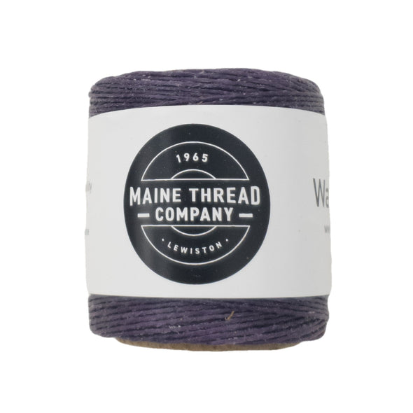 "Maine Thread Waxed Polycord .035"" - Various Colors, Single / Lilac"