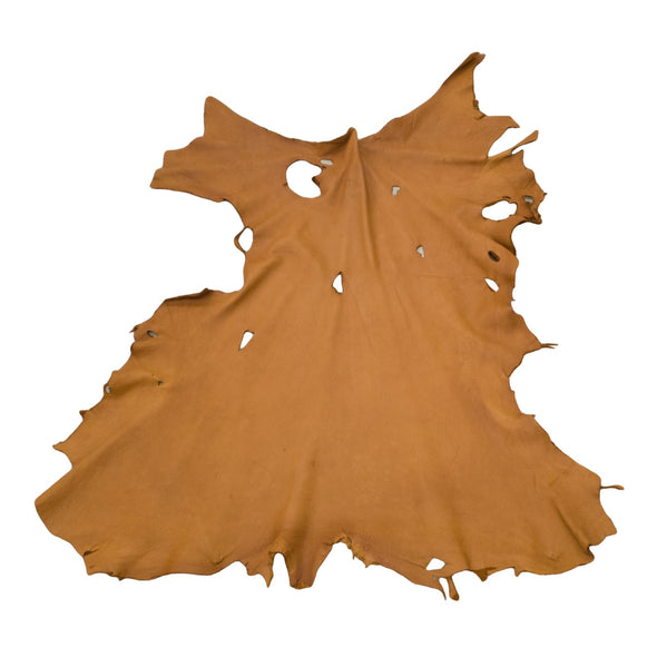 Bulk Buckskin Deer Hides Various Colors, Tobacco