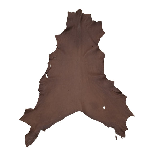Bulk Buckskin Deer Hides Various Colors, Chocolate