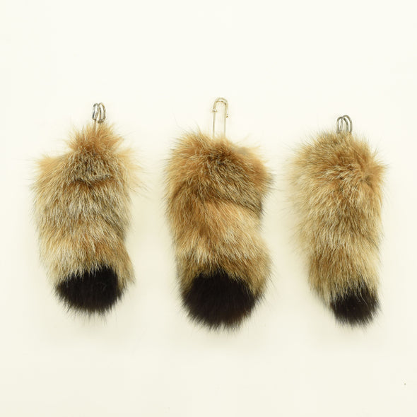 Genuine Small to Medium Animal Fur Tails, Lynx
