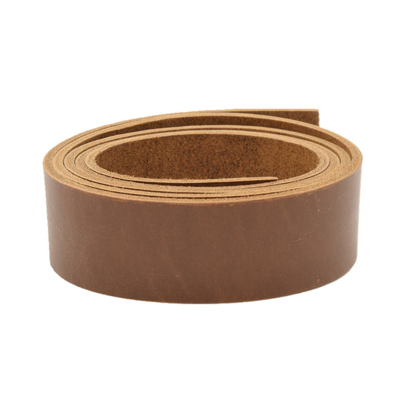 "Leather Pre-cut Belt Blanks 54"" long 9-10oz Minnesota Superior Cowhide, Twin Cities Chocolate / 1 1/2 / Ultra Smooth"