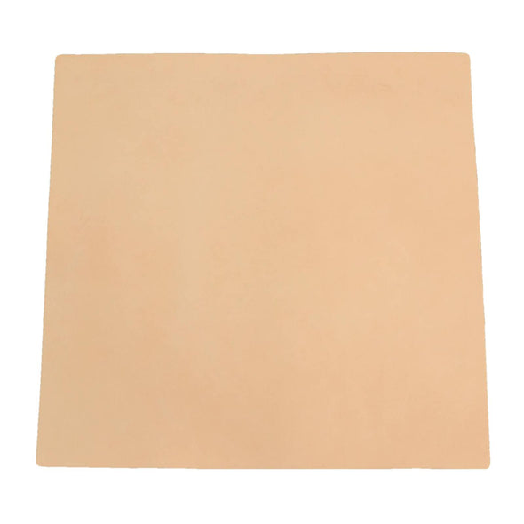Artisan's Choice Cow Natural Veg Tan Leather Various Pre-cut Sizes & Thickness, 7-8 / 12 x 12