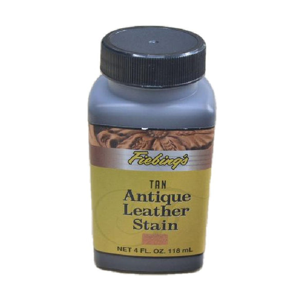 Fiebing's Antique 4 oz Leather Stains, Tan