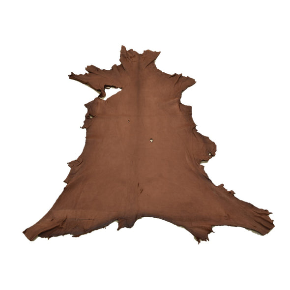 Chocolate Buckskin Deer Hides, 11 Square Foot / Hide 11 / 4-5oz