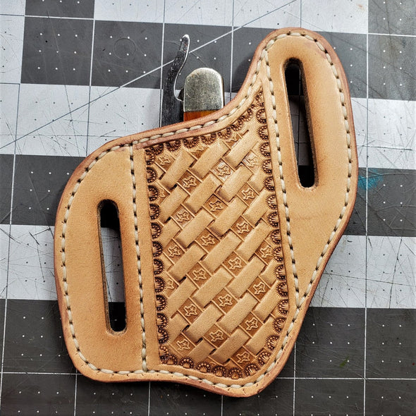 Maker's Leather Supply Knife Sheath Template Set,