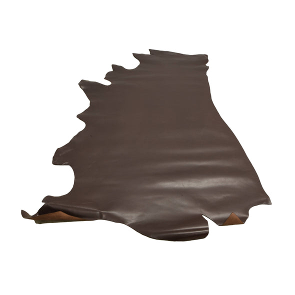 Artisans Choice Bridle Leather Cow Hide Side 31 Sq Ft Chocolate 3 - 4 oz,