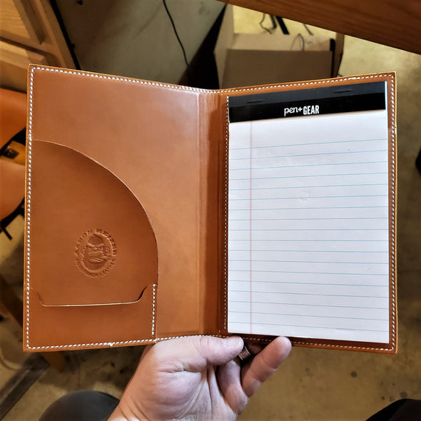 Maker's Leather Supply Mini Padfolio Template Set,