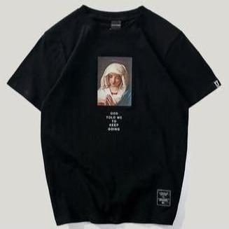 T-Shirt PRAYING GOD™ T-Shirt FuturXwear