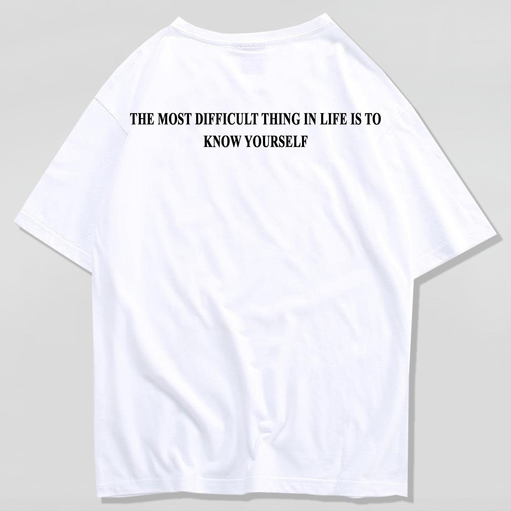 "T-Shirt ""THE MOST DIFFICULT THING"" (LIL PEEP)™ T-Shirt FuturXwear"