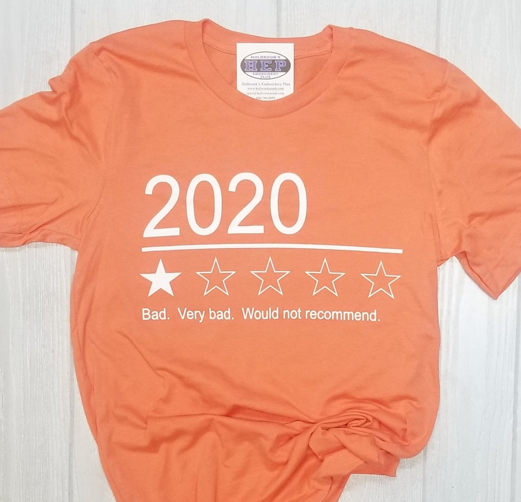 2020 Bad - Would not recommend