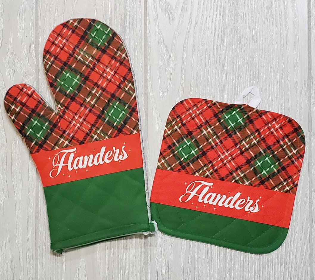 Oven Mitt / Pot Holder Set