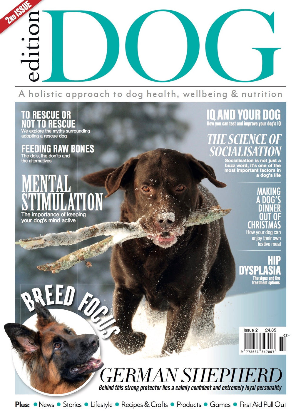 Issue 2 Edition Dog Magazine