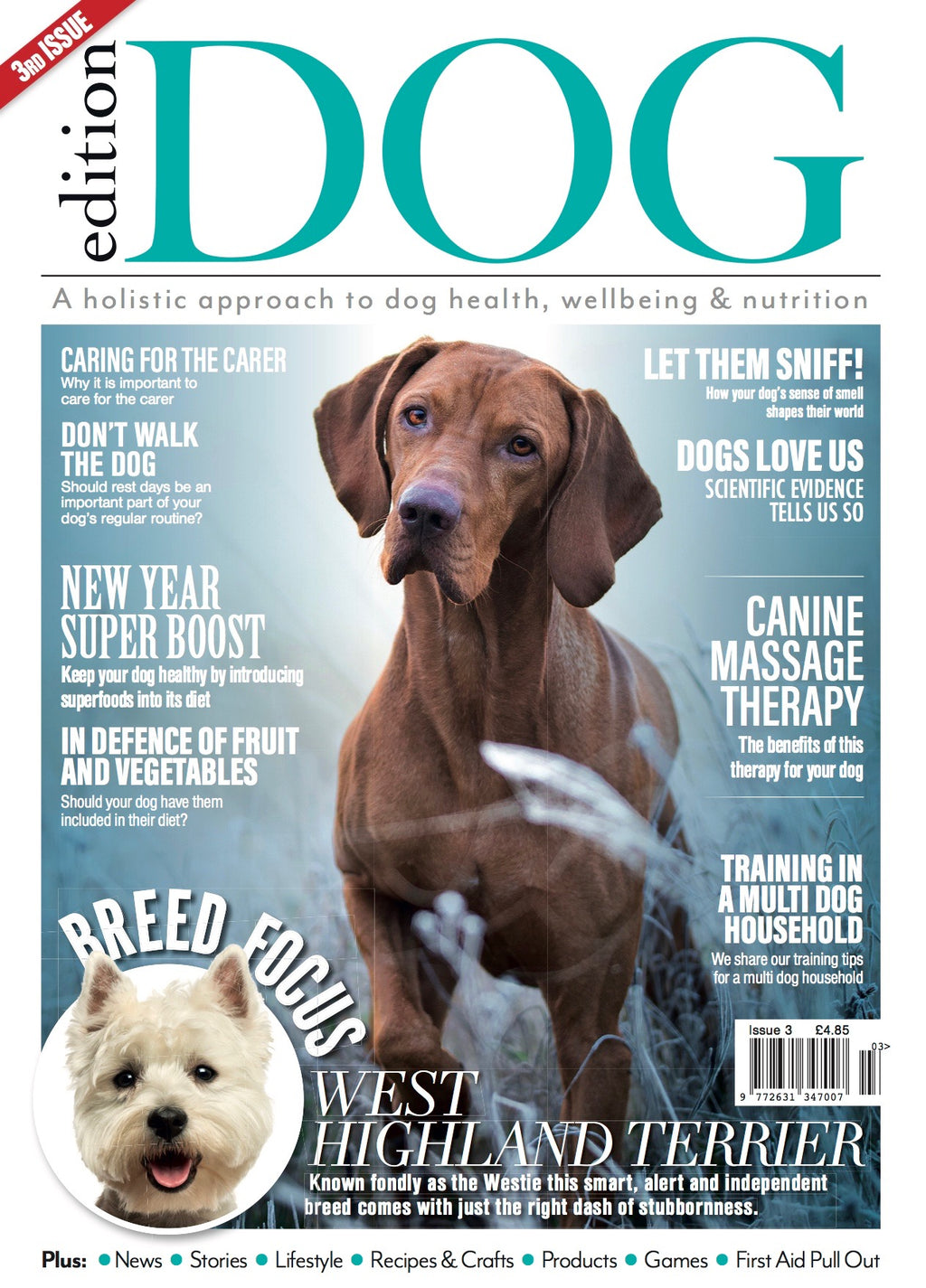 Issue 3 Edition Dog Magazine