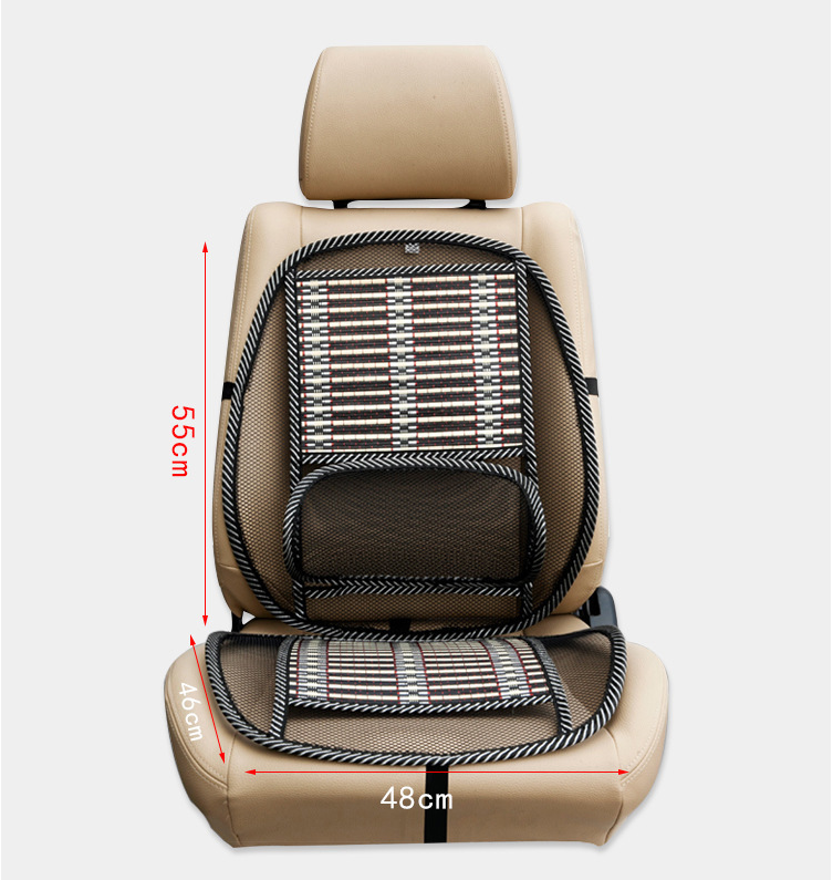 Summer massage cushion breathable cushion car wire seat cushion cooling pad