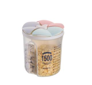 Transparent Sealed Cans Storage Boxes Seasoning Grain