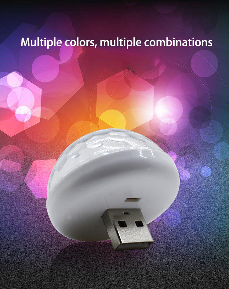 USB Mini Mushroom Light