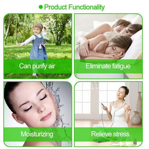 Mini Spray Water Meter Humidifier For Skin Hydration