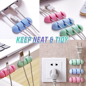 Silicone Multi-Cable Holder