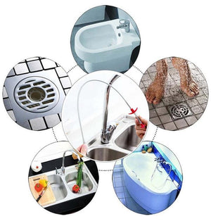Kitchen Sink Sewer Cleaning Hook。