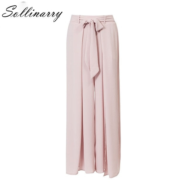 Sexy Long wide Leg Pants