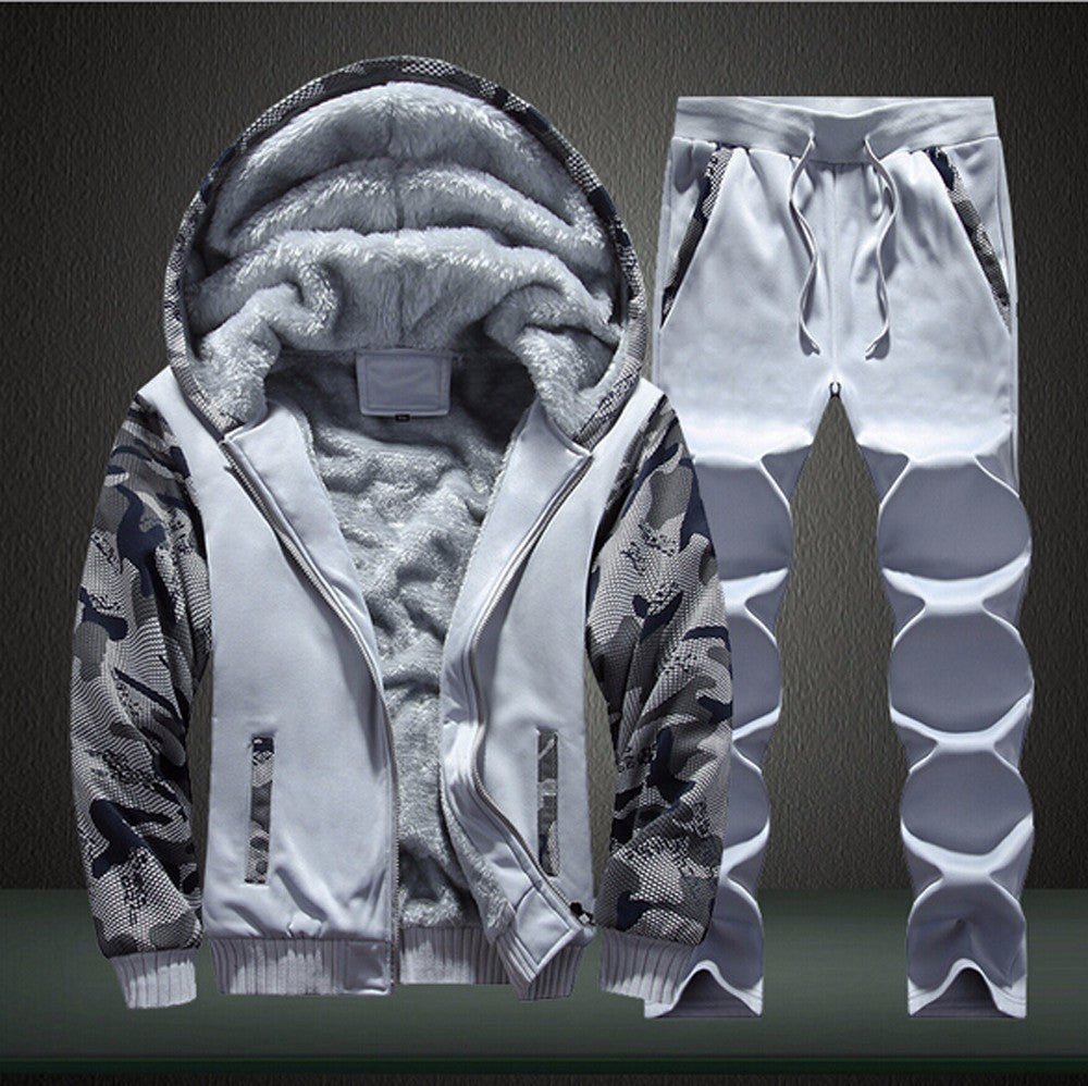 Men's 2 piece Fleece Tracksuit Combo