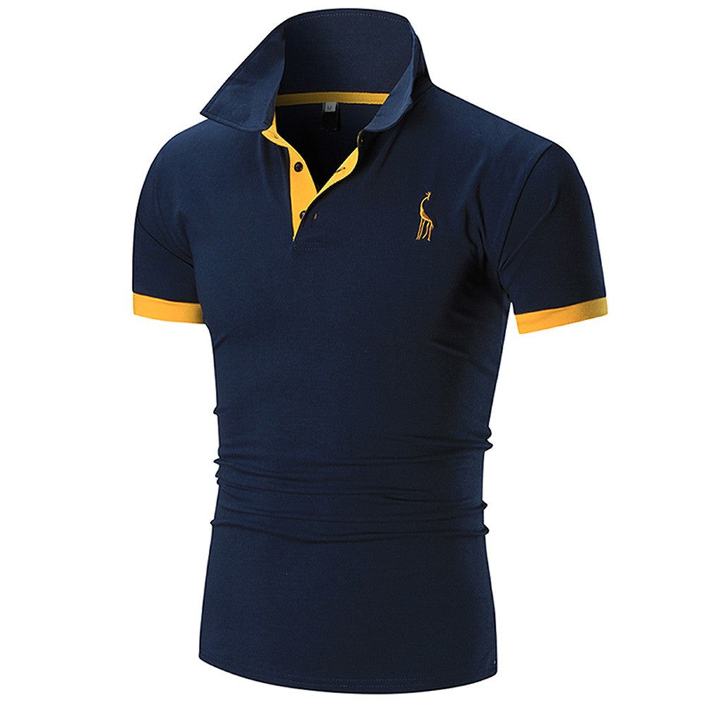 Men's Casual Polo T Shirt (Assorted Colors)