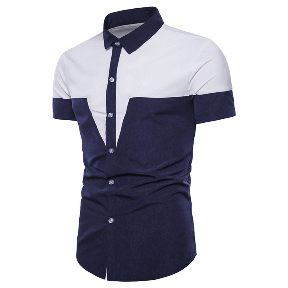 Men's Casual Dress T Shirt