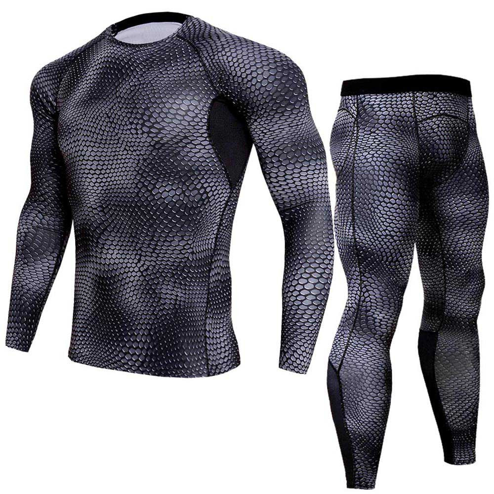 Men's 2 piece Muscle Compression Set