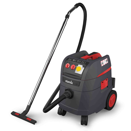 Starmix I-Pulse 110v H-Class Vacuum including Wand Kit